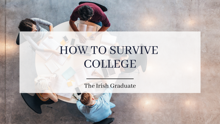 How to Survive College: 3 Things You NEED to Know!