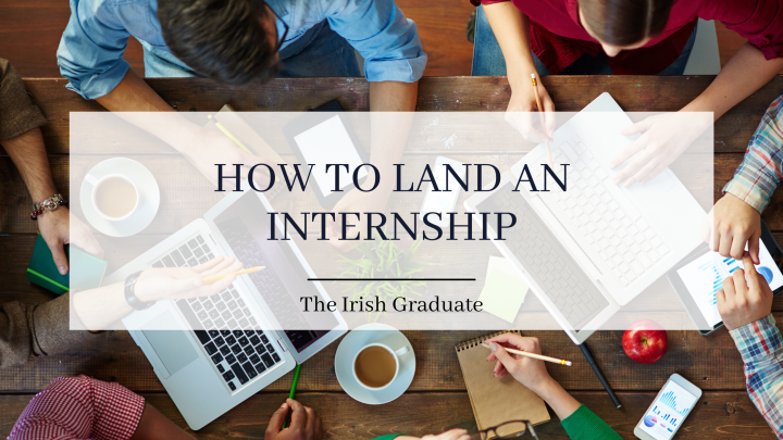 How to find an internship before you graduate