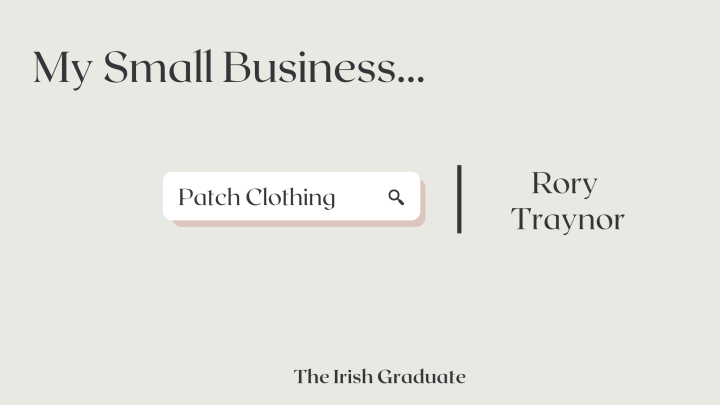 My Small Business: Rory Traynor