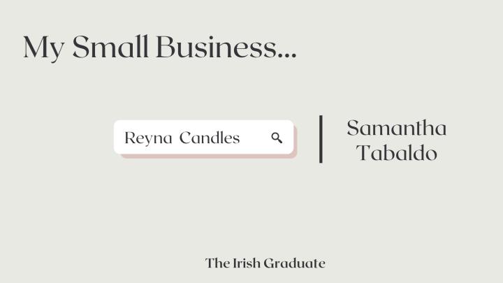 My Small Business: SamanthaTabaldo